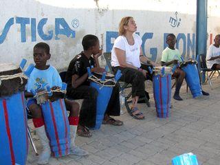 Amber in haiti